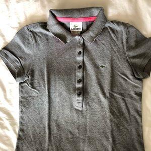 Lacoste Women's Pique Polo Shirt 5 buttons